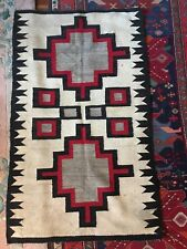 "Native American Navajo Crystal Trading Post Design Rug,64""x38"". Closet Find"