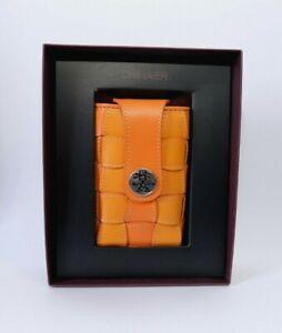 Crumpler The Checker 90 CHE90-005 orange leathe Camera Pouch , BNIP