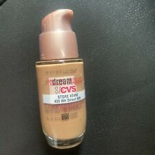 Maybelline Dream Liquid Mousse 120 Caramel Airbrush Finish Foundation 1 oz.