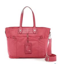 NWT Marc By Marc Jacobs Pink Baby Diaper Bag Shopper Tote With ID Holder
