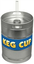 Metal Keg Cup with Plastic Cup Insert - Very cool item to have