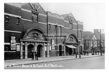 pt0495 - Picture House & Billiards Hall , Woodlands , Yorkshire - photo 6x4
