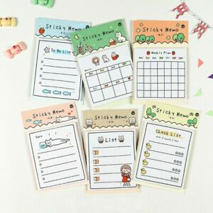 Infeel Me Sunny Day Cat Sticky Memo cute kitty schedule to do list sticky notes