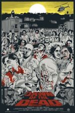 Dawn of the dead by Jeff Proctor - Regular - Rare sold out Mondo print