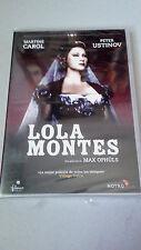 "DVD ""LOLA MONTES"" PRECINTADA MAX OPHULS MARTINE CAROL PETER USTINOV"