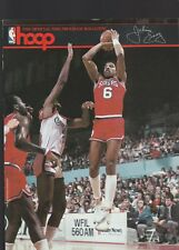 LAKERS 1986 HOOP MAGAZINE-SHOWTIME VS THE SIXERS-DR. J ON THE COVER