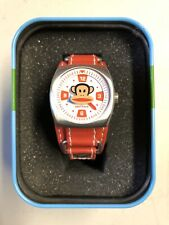 Paul Frank Red Watch - With Original Tin Case