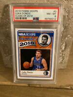 2018-19 LUKA DONCIC Panini Hoops Class Of 2018 PSA 8 #3 ROOKIE RC