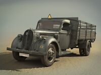 ICM 1/35 35413 WWII German Army Truck G917T (1939 Production)