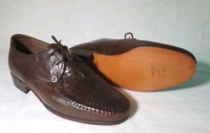 Pierre Cardin Womens Woven Leather Shoe - Size 6