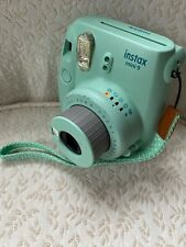 Fujigilm instax mini 9 instant camera Green Tested USA Seller