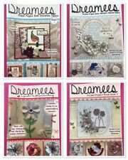 4 Dreamees Project Books Guide To Flower Making Christmas 54 Projects