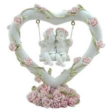 Gothic and Fantasy Nemesis Now Pink Rose Heart Swing