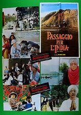 H20 LOTTO FOTOBUSTE PASSAGGIO IN INDIA FORSTER DAVID LEAN 2
