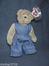 1993 GILBERT BEAR COLLECTIBLE TY BEANIE POLYESTER FIBER CHINA PLUSH WITH TAGS