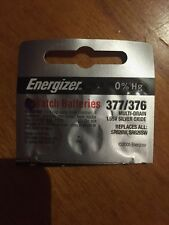 Energizer 377/376  Watch Battery  SR626SW  SR626W V377 Authorized seller.
