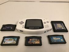 Nintendo Gameboy Advance Console Bundle - Game Boy System With Games