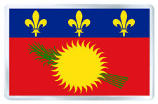 GUADELOUPE FLAG FRIDGE MAGNET SOUVENIR IMAN NEVERA