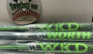 RARE NIW New 2018 Worth Wicked WWKDXL WKD 1.21 Senior Slowptich Softball Bat 26