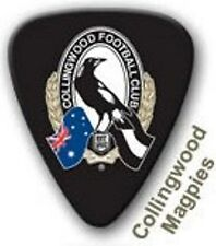 Collingwood Magpies Guitar Picks 5 Pack Official AFL Product
