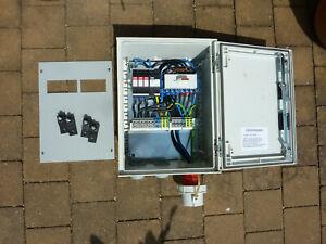 Notstromumschalter Netzumschalter Drehschalter 400V 4polig Netzersatz gebraucht