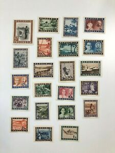 Indonesia 1948 - SC# 1-22 Postage, Repoeblik, Culture, History - 22 Stamps - MNH