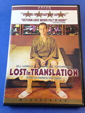 Lost in Translation (Dvd/2004) Sofia Coppola/Bill Murray/Scarlett Johansson