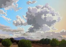 """Doug West, """"Heavens Gate - Air"""", Limited edition handpulled serigraph, NM"""