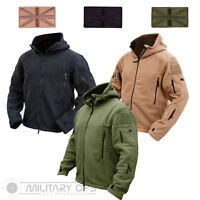 TACTICAL RECON HOODIE MILITARY FLEECE COLD WEATHER JACKET POLICE SECURITY ARMY