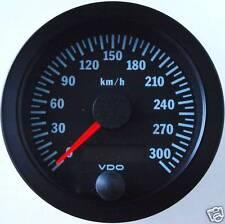 VDO Tachometer Tacho 80mm bis 300 Km/h