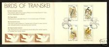 TRANSKEI SOUTH AFRICA # 79-82 BIRDS FDC Card