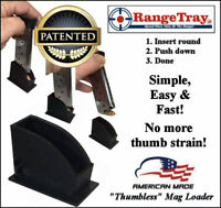 "RangeTray ""THUMBLESS"" Magazine SpeedLoader for Jimenez Arms JA380 JA 380 .380"