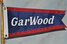 New listing Gar Wood burgee pennant flag - Large size