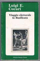 BASILICATA - POLITICA - CUCARI