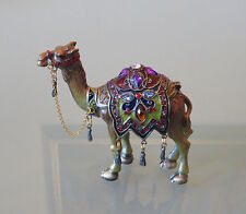 Mumonkan Russian Trinket Box CAMEL Faberge Tradition Swarovski Jewelry CHARM