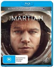 The Martian 3d Blu-ray Region B Aust Post