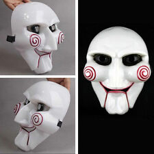 Saw Halloween Mask Head Creepy Scary Costumes Horror Mask Cosplay Cool Plastic