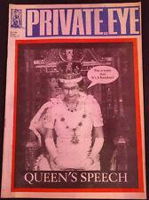 Private Eye Magazine #666, 1987, Queen's Speech #B476