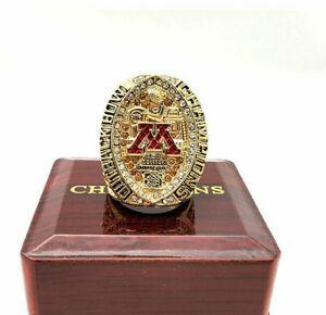2019 Minnesota Golden Gophers College Football Championship Ring