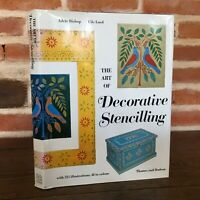 Bishop Lord The Art Of DECORATIVE STENCILLING Thames and Hudson 1976
