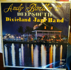 Andy Bartha and his Deepsouth Jazz Band - LP Art 86