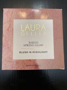 Laura Geller Baked Spring Glow Blush-N-Highlight. .71 Oz.