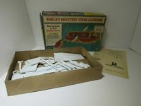 Vintage Multiple Toymakers World's Greatest Stage Illusions Saw the Lady in Half