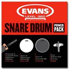 Evans EPP-G1RD-H30 14″ Snare Power Pack