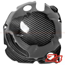 2014-2016 Z1000 Side Engine Clutch Case Cover Guard Fairing Cowling Carbon Fiber