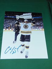 Boston Bruins Chris Kelly Autographed 8x10 Stanley Cup Photo