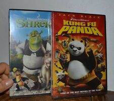 Kung Fu Panda & Shrek 2 DVD BOTH ARE Brand New and Factory Sealed AUTHENTIC