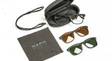 NASH MAG-OPTIX SUNGLASSES WITH INTERCHANGEABLE AMBER & GREEN LENSES *NEW 2019*
