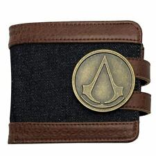 Wallet Assassin's Creed Metal Crest Logo Premium Wallet Abystyle