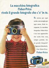 X7303 Macchina fotografica Fisher-Price - Pubblicità 1994 - Vintage advertising